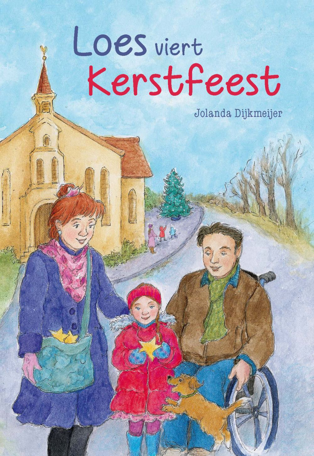 Loes viert kerstfeest; E-Book